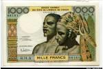 63453 - 1000 FRANCS Couple Africain