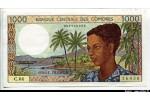 63474 - 1000 FRANCS Femme & Ile d'Anjouan