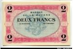 63481 - 2 FRANCS Nécessité SPECIMEN