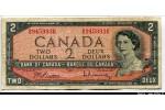 63610 - 2 Dollars Elizabeth & Campagne du Québec