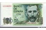 63668 - 1000 Pesetas B.P.Galdos