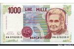 63809 - 1000 Lire M.Montessori    *      *      *     PROMO