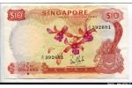 64031 - 10 Dollars Fleurs & 4 mains