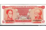 64089 - 5 Bolivares S.Bolivar & F.di Miranda   *   *   *   *   *   PROMO
