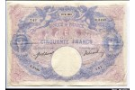 64236 - 50 FRANCS BLEU & ROSE - Type 1889