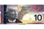 64365 - 10 Dollars Sir John A.Mac Donald     *   *   *