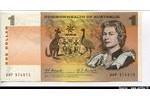 65922 - 1 Dollar Elizabeth II & Motifs Africains Sign:Coombs & Randall Très RARE