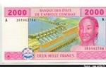 66020 - 2000 Frs Jeune femme & Barrage   A:Gabon