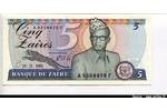 66247 - 5 Zaires Mobutu