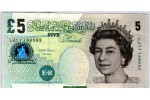 66252 - 5 Pounds Elizabeth II & Elizabeth Fry   *   *   *   *   *