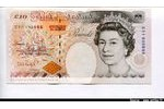66256 - 10 Pounds Elizabeth II & Charles Dickens  *   *  *   *   *   *