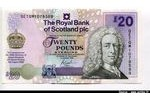 66282 - 20 Pounds L.Ilay & Elizabeth II Royal Bank of Scotland plc *   *   *    PROMO