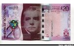 66284 - 20 Pounds Sir W.Scott & Pont  Bank of Scotland*   *  *   *   *   *  *  *  *