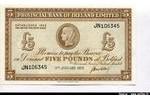 66306 - 5 Pounds Provincial Bank of Irland Limited Caméo portrair Archaïque    *     *    *    *
