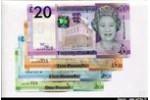 66322 - Lot de 4 Billets 1-5-10-20  Pounds Elizabeth II     *      *    NOUVEAUTE