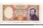66363 - 10000 Lire Michelangelo   *      *      *