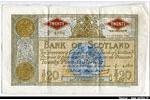 66369 - 20 Pounds  Bank of Scotland Armoiries