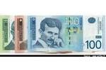 66462 - Lot de 3 Billets 100-200-500 Dinara