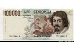 66488 - 100 000 Lire Caravaggio *    *    *    *    *    *    *    *    *   PROMO