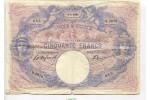 67135 - 50 FRANCS BLEU & ROSE - Type 1889