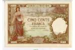 67556 - 500 FRANCS SPECIMEN Femme & Bateaux