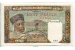 67564 - 100 FRANCS Notable Algérien
