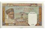 67565 - 100 FRANCS Notable Algérien