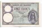 67568 - 20 FRANCS Jeune Musulmane Type 1928