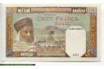 67653 - 100 Francs Notable Algérien   *      *    PROMO
