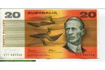 67670 - 20 Dollars Sir Charles Kingsford  Sig:Johnston & Fraser