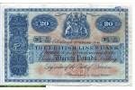 67799 - 20 Pounds Armoirie The British Linen Bank  RARE