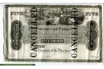 67805 - 5 Pounds North Scotland Banking Company  Billet Annulé   RARETE