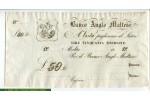 67818 - 50 Lire Sterline Banco Anglo Maltese  St Georges terrassant le Dragon  RARE