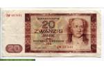 68650 - 20 Mark Johann Wolfgang von Goethe
