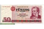 68655 - 50 Mark Friedrich Engels    *    *
