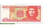 68846 - 3 Pesos Che Guevarra    *     *