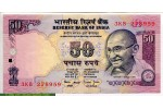 68962 - 50 Rupees Mahatma Ghandi