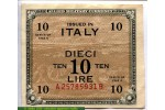 68988 - 10 Lire Allied Military Currency