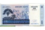 69047 - 500 Frs /100 Ariary Plantation de Ravinala & Tsingi   *    *