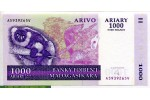 69050 - 5000 Frs /1000 Ariary Lémurien    *     *
