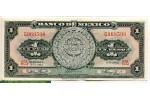 69070 - 1 Peso Calendrier Atzèque     *    *