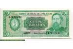 69130 - 100 Guaranies Général José Diaz