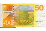 69138 - 50 Gulden Tournesol