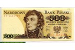69180 - 500 Zlotych T.Kkosciusko    *     *