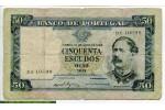 69188 - 50 Escudos Fontes Pereira de Mello        Assez Rare