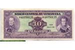 69312 - 10 Bolivares J.Sucre & S.Bolivar