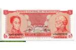 69313 - 5 Bolivares  S. Bolivar & F.de Miranda    *      *   PROMO