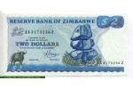 69396 - 2 Dollars Roche de Chiremba