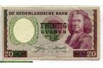 70434 - 20 Gulden Boerhaave   RARE