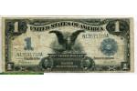 70449 - 1 Dollar Lincoln & Grant  Silver Certificate
